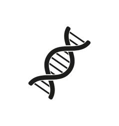 The dna icon genetics and medicine molecule vector