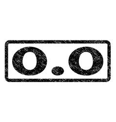 00 watermark stamp vector image
