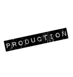 Production rubber stamp vector