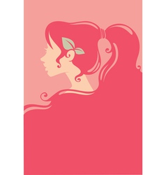 Pink beauty vector