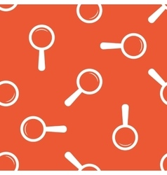Orange search pattern vector