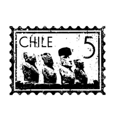Chile icon vector