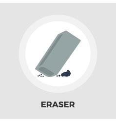 Eraser flat icon vector