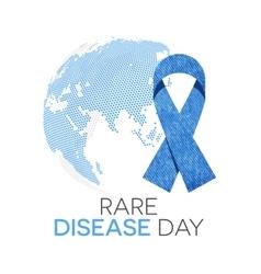 Rare Disease Day vector image vector image