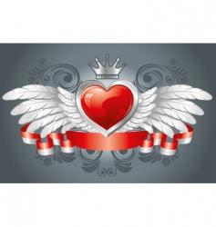 Valentine's design vector image vector image