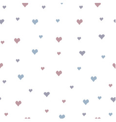 Creative hand drawn seamless pattern with tiny vector