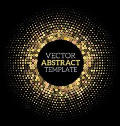 Disco halftone vector image