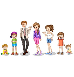 A big family vector