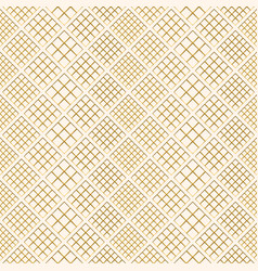 pattern beige gold vector image
