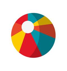 pool ball icon vector image