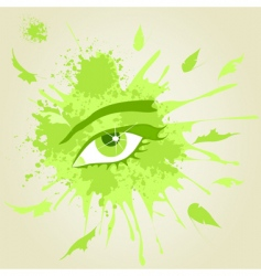 eye3 vector image