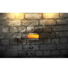 Brick wall wallpaper vector