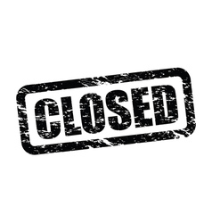closed vector image vector image