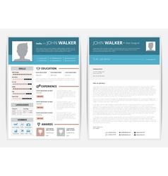 Cv web page vector