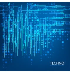 Techno 5 vector