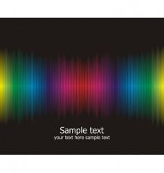 Rainbow colours background vector