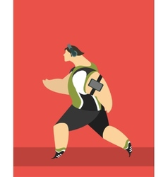 Running Sports vector image