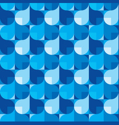 Abstract background in blue colors vector