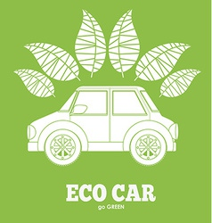 Eco ecology desing vector