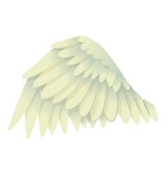 Goose wing icon cartoon style vector