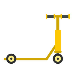 scooter icon isolated vector image