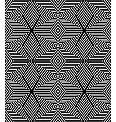 Seamless op art texture vector