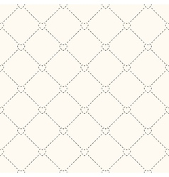 Seamless retro pattern with hearts vector