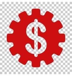 Development cost icon vector