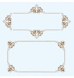 dot frames vector image