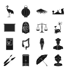 Justice finance medicine and other web icon in vector