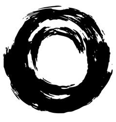 Motion circle 02 vector image