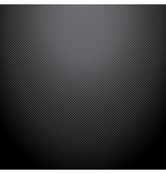 Realistic dark carbon background texture vector