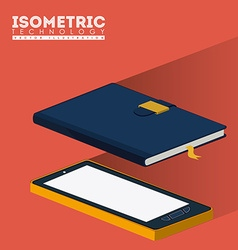Isometric design vector