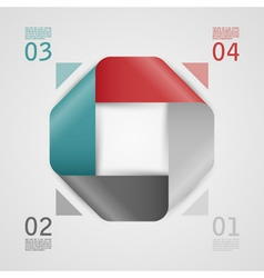 Abstract web template vector