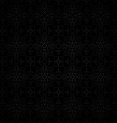Dark backgroundseamless classic pattern vector