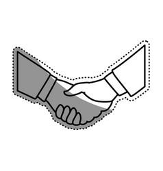 Handshake deal symbol vector