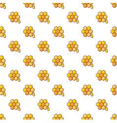 Honey comb pattern seamless vector