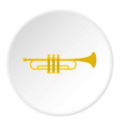 music tube icon circle vector image vector image
