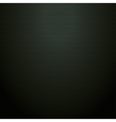 Realistic dark green carbon background texture vector