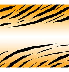 tigerskinbackground vector image