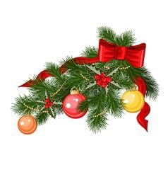 Christmas branche vector
