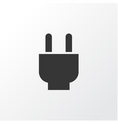 Plug icon symbol premium quality isolated socket vector