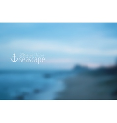 seascape vector image vector image