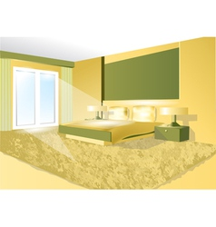 bedroom vector image