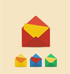 Retro Envelope vector image