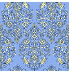 Seameless paisley pattern vector
