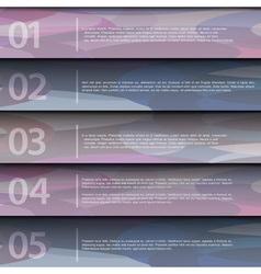 Purple design template vector