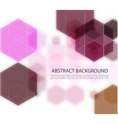 brightly colored abstract background vector image