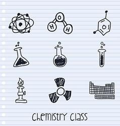 Chemistry class vector