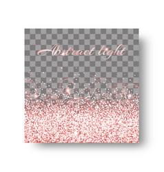 Glimmer pink background vector